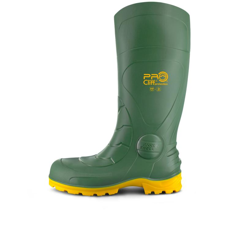 Bota Impermeable Safety Green Field (SEBS)