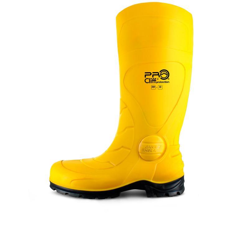 Bota Impermeable Safety (SEBS) Con Casco Plástico de Nylex